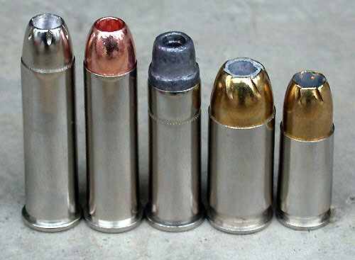 357 magnum ammo. Here we see a .357 magnum