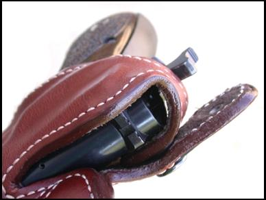 Two Ross Holsters for the Browning Hi Power